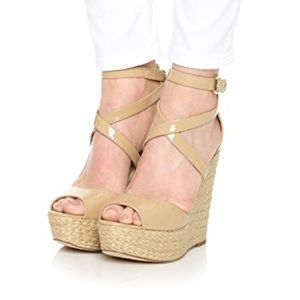 Michael Kors strappy wedge sandal